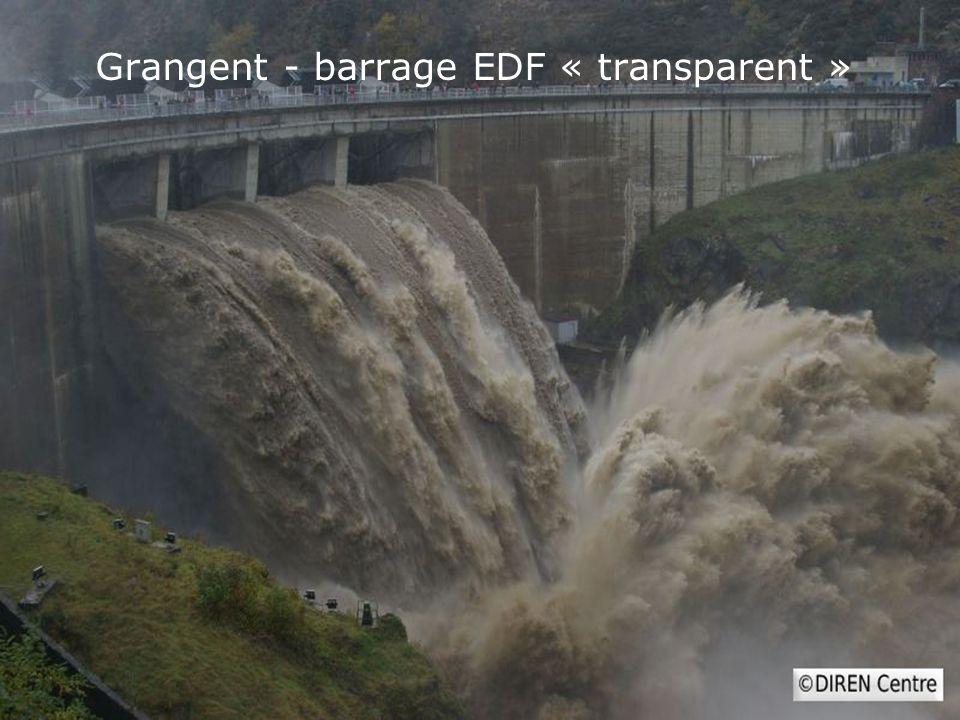 Grangent - barrage EDF « transparent »