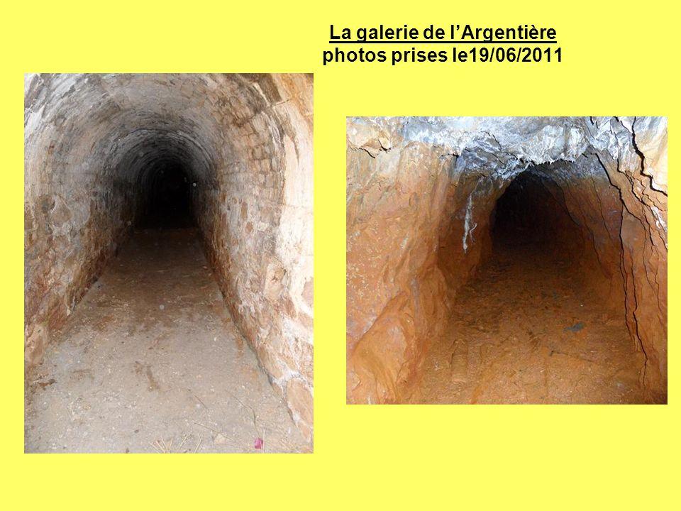 La galerie de l'Argentière photos prises le19/06/2011
