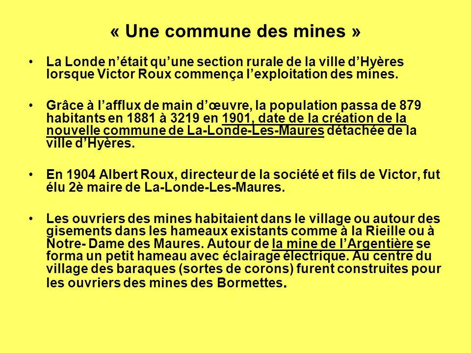 « Une commune des mines »