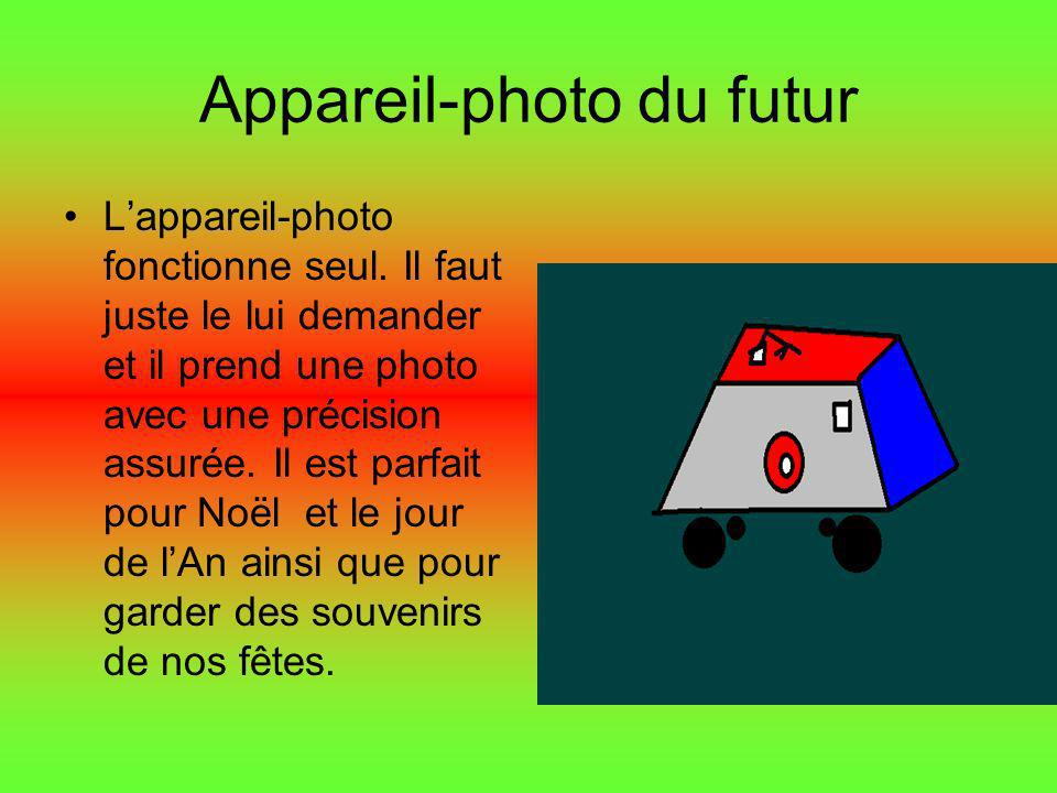 Appareil-photo du futur