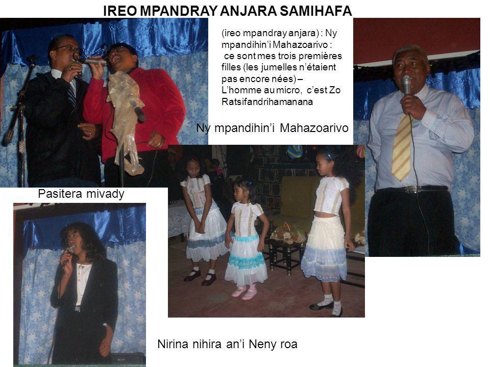 IREO MPANDRAY ANJARA SAMIHAFA