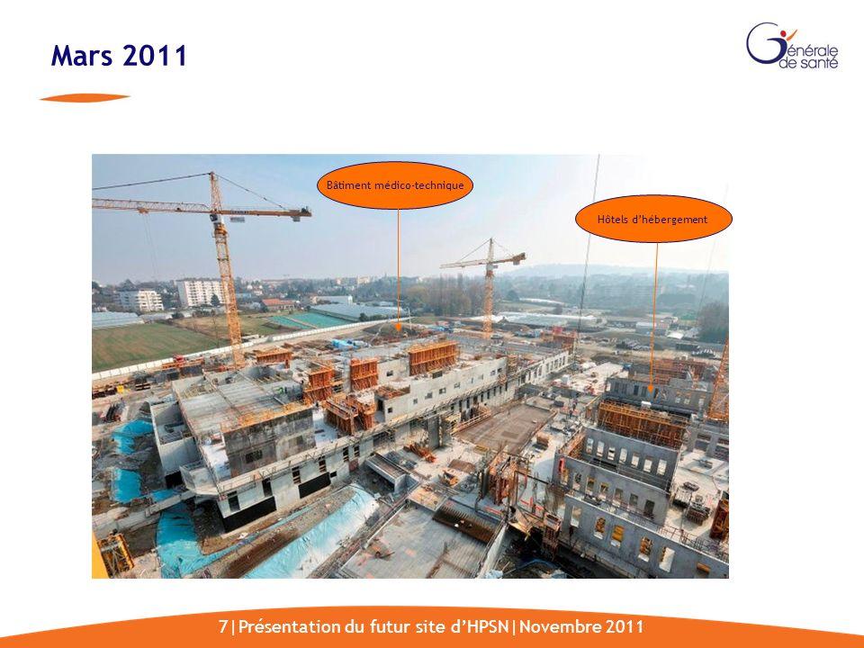 Mars 2011 7|Présentation du futur site d'HPSN|Novembre 2011