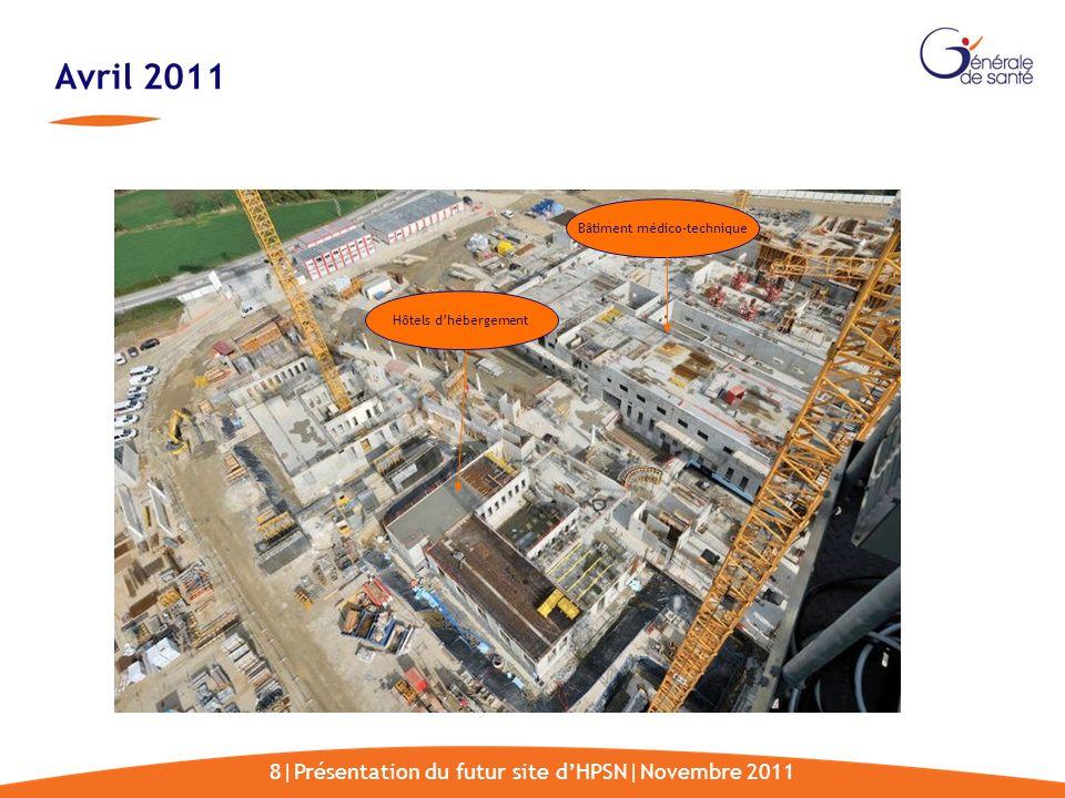 Avril 2011 8|Présentation du futur site d'HPSN|Novembre 2011