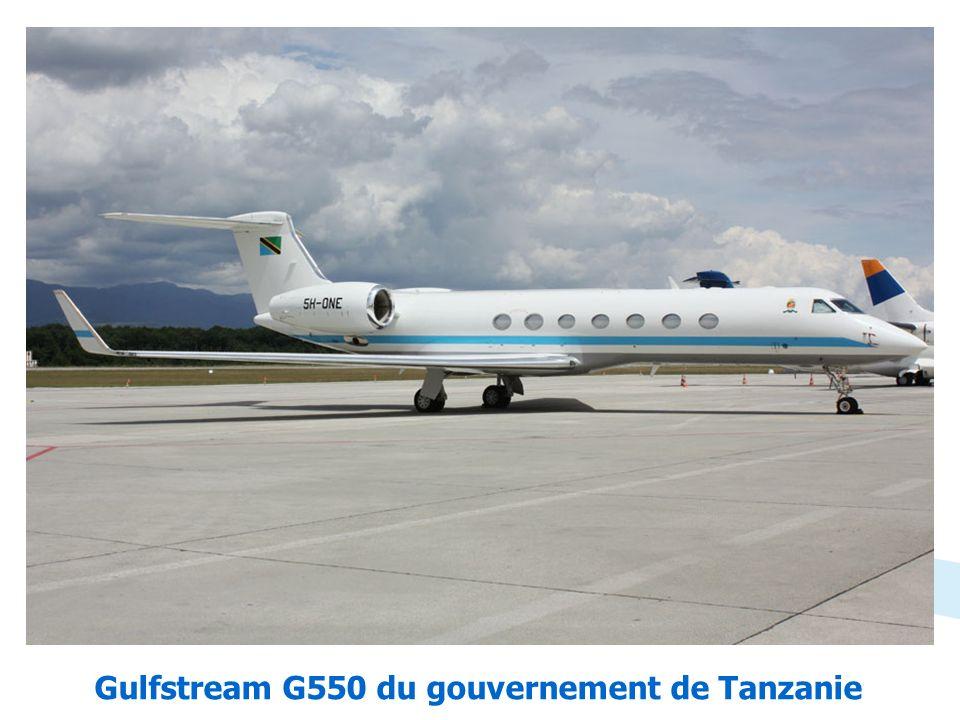Gulfstream G550 du gouvernement de Tanzanie