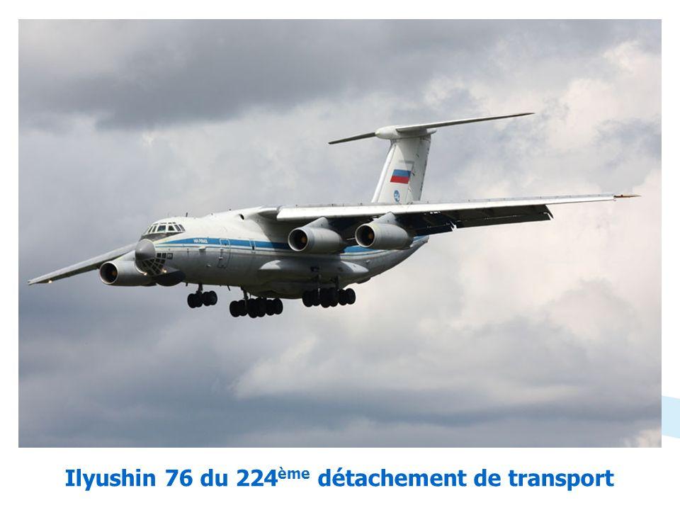 Ilyushin 76 du 224ème détachement de transport