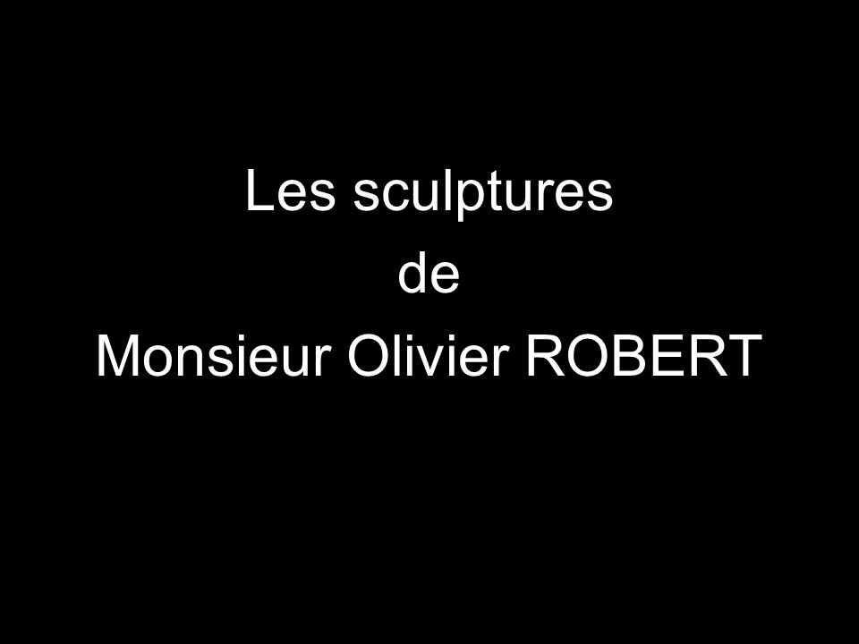 Monsieur Olivier ROBERT