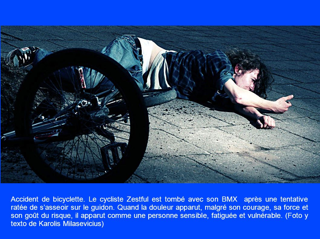 Accident de bicyclette