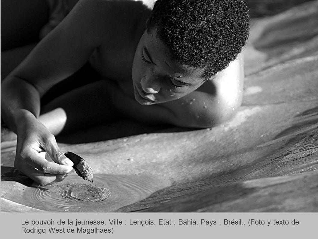 Le pouvoir de la jeunesse. Ville : Lençois. Etat : Bahia.