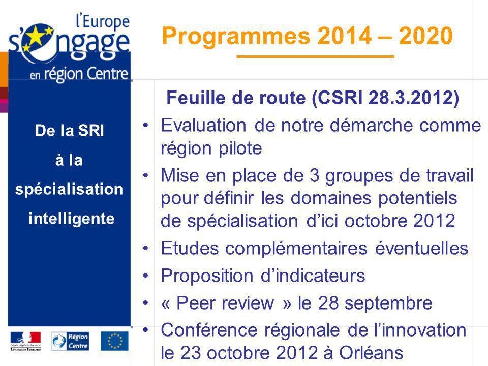 Feuille de route (CSRI 28.3.2012)