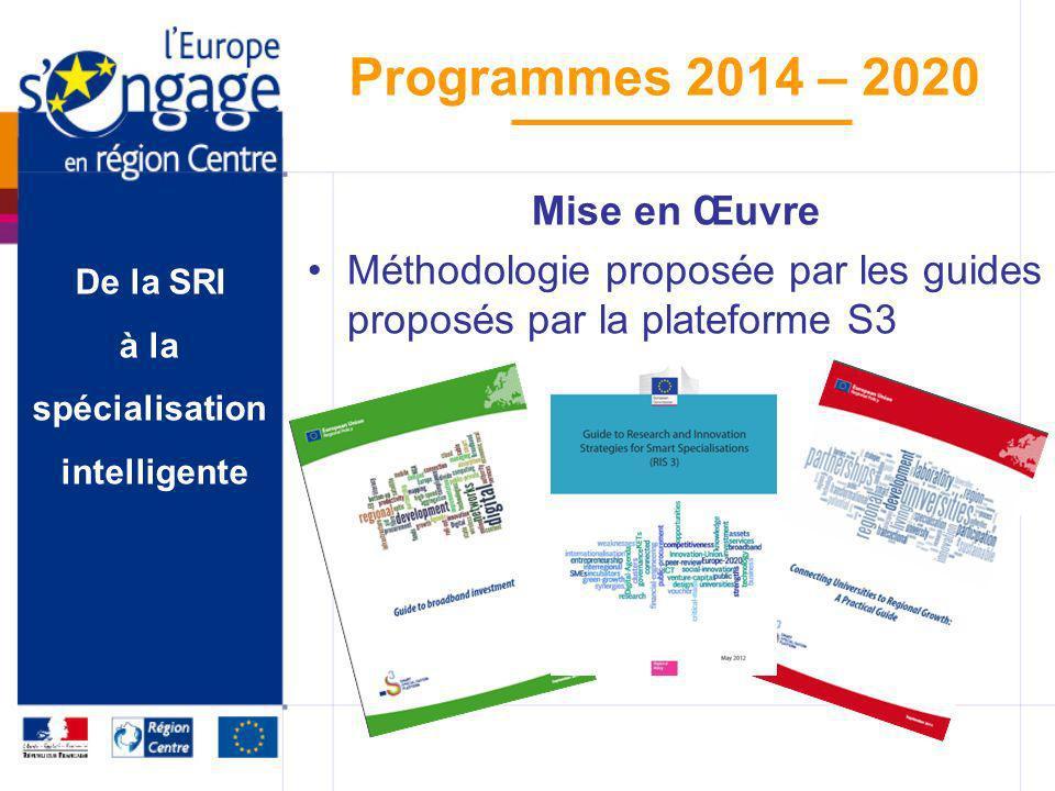 Mise en Œuvre Méthodologie proposée par les guides proposés par la plateforme S3