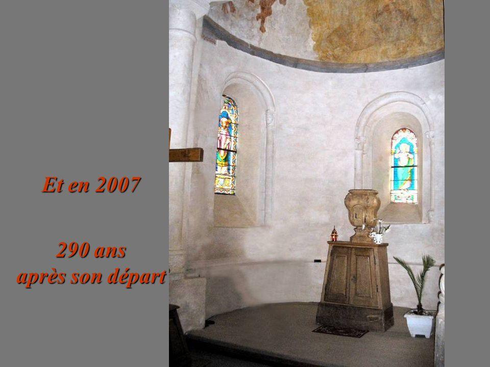 Et en 2007 290 ans après son départ