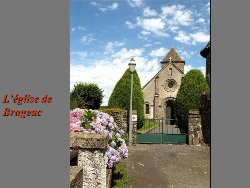 L église de Brageac