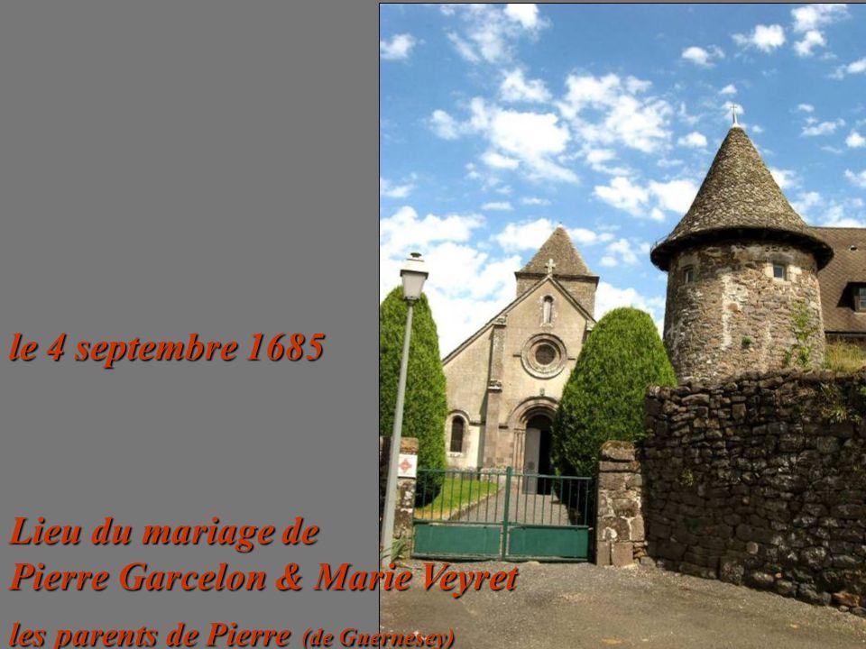 Lieu du mariage de Pierre Garcelon & Marie Veyret