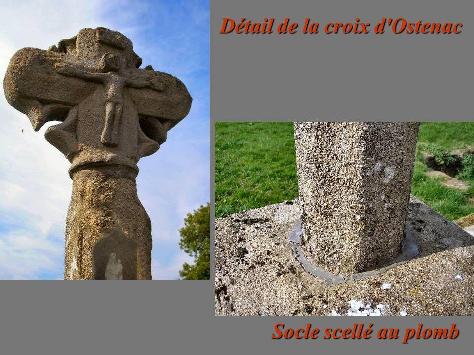 Détail de la croix d Ostenac