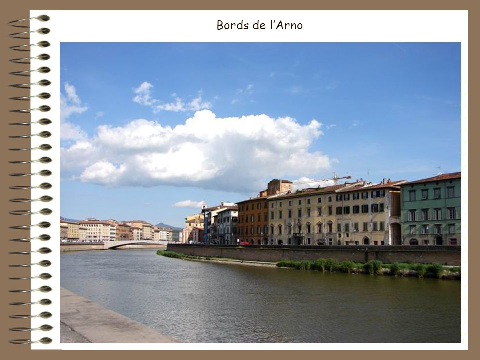 Bords de l'Arno