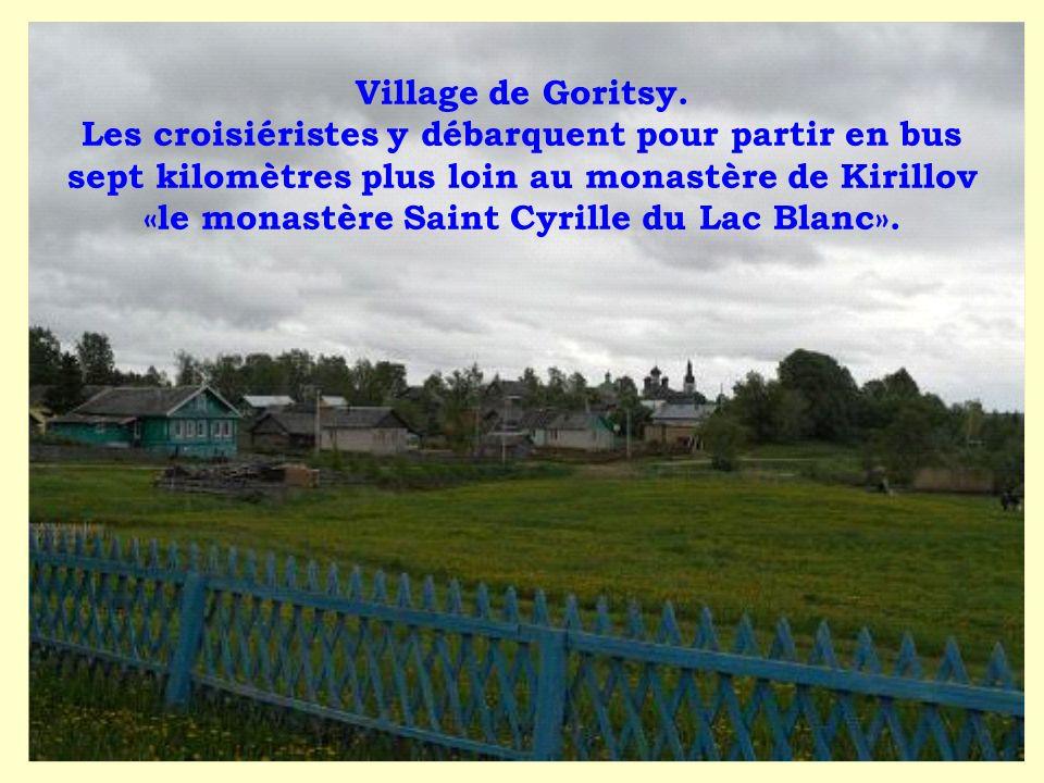 Village de Goritsy.