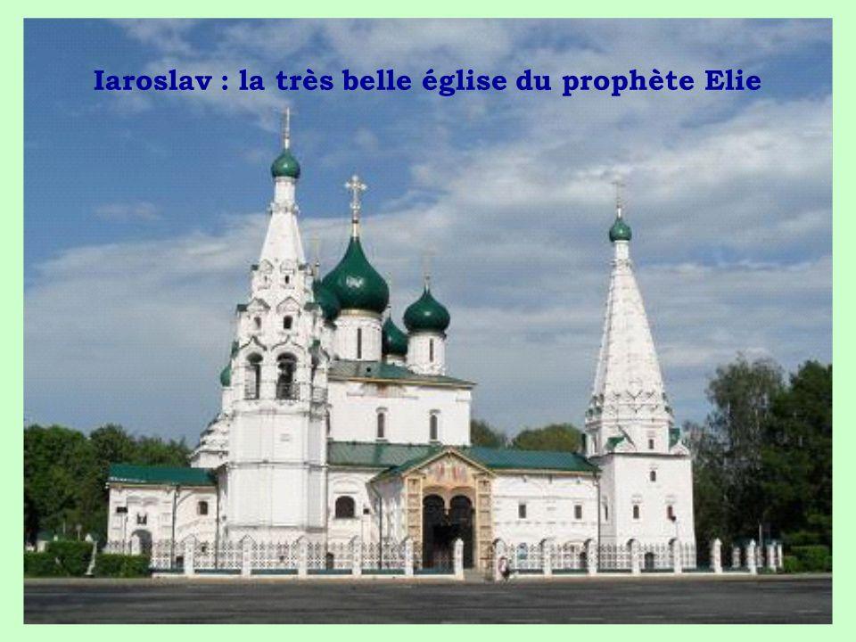 Iaroslav : la très belle église du prophète Elie