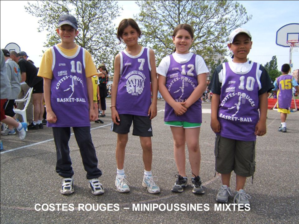 COSTES ROUGES – MINIPOUSSINES MIXTES