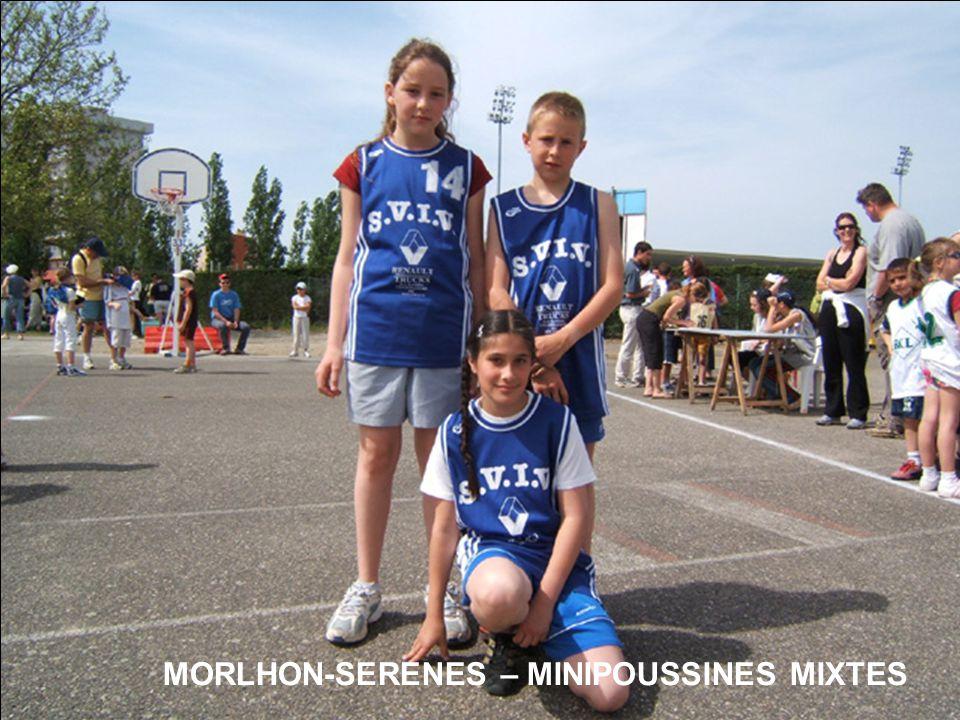 MORLHON-SERENES – MINIPOUSSINES MIXTES