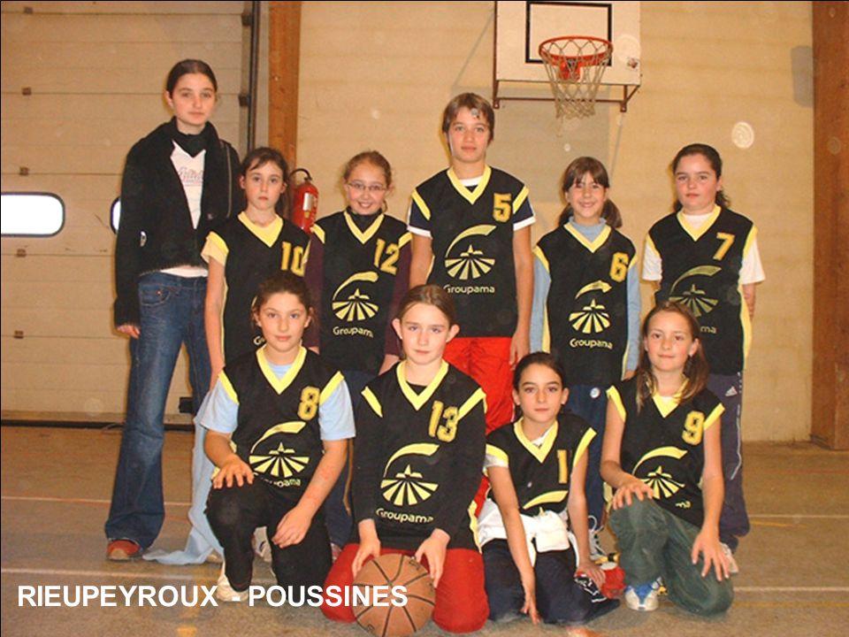 RIEUPEYROUX - POUSSINES