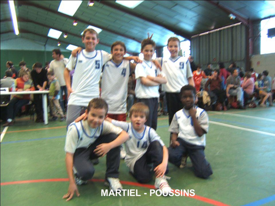 MARTIEL - POUSSINS