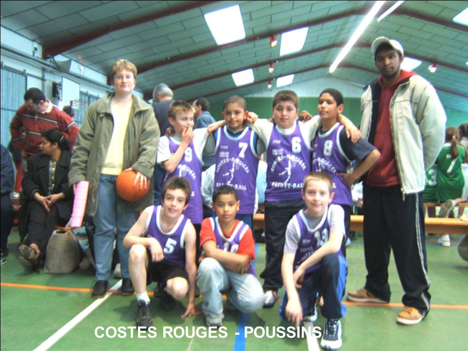 COSTES ROUGES - POUSSINS