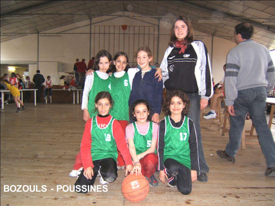 BOZOULS - POUSSINES
