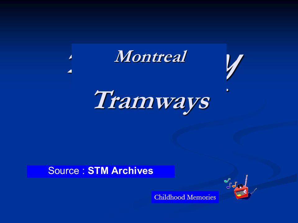Source : Archives de la STM