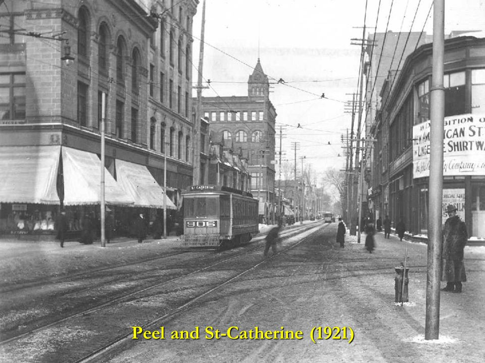 Peel and St-Catherine (1921)
