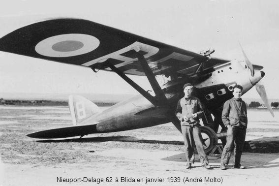 Nieuport-Delage 62 à Blida en janvier 1939 (André Molto)