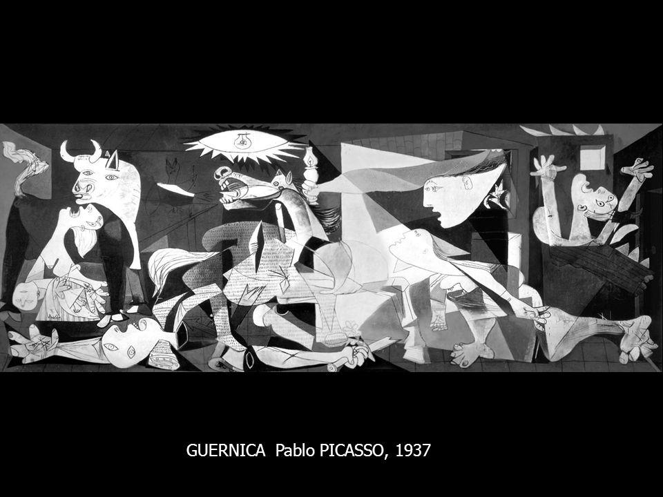 GUERNICA Pablo PICASSO, 1937