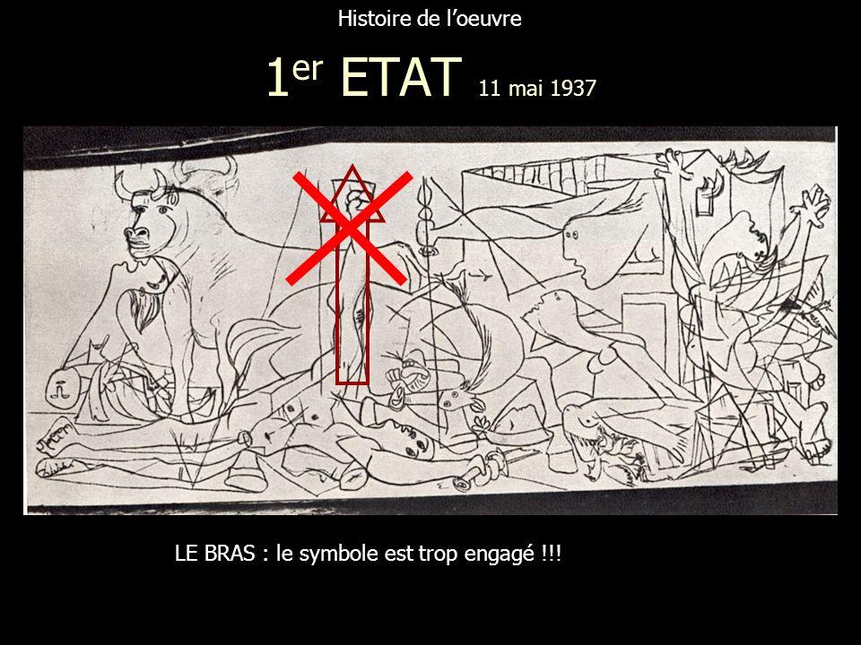 1er ETAT 11 mai 1937 Histoire de l'oeuvre