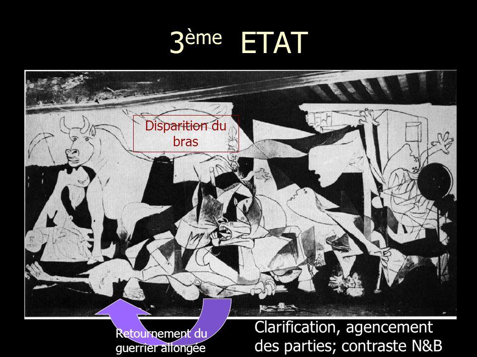 3ème ETAT Clarification, agencement des parties; contraste N&B