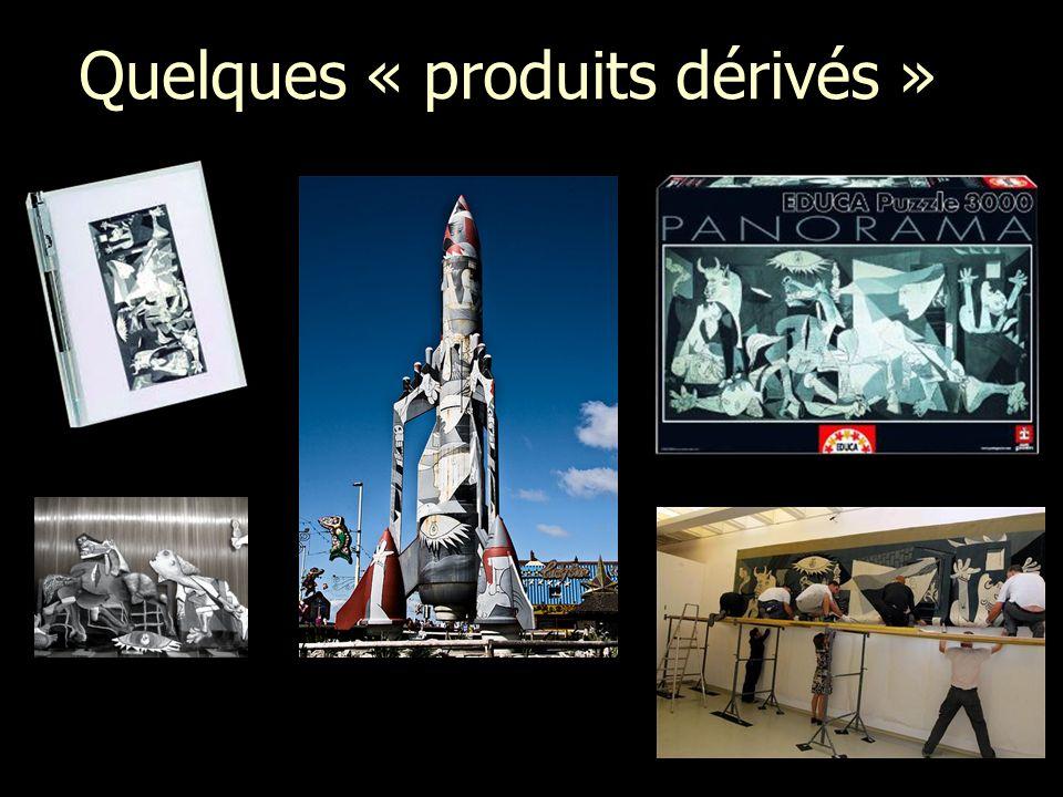 Quelques « produits dérivés »