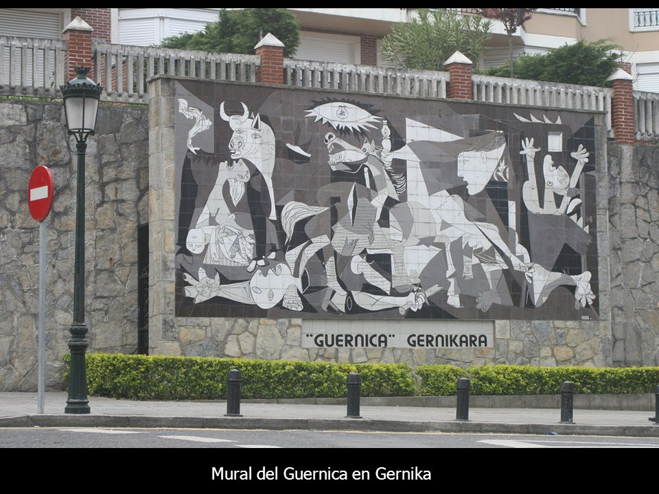 Guernica pablo picasso ppt video online t l charger for Mural guernica