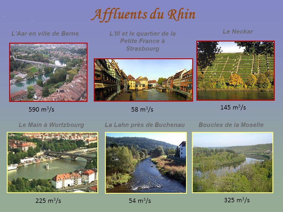 L Ill et le quartier de la Petite France à Strasbourg