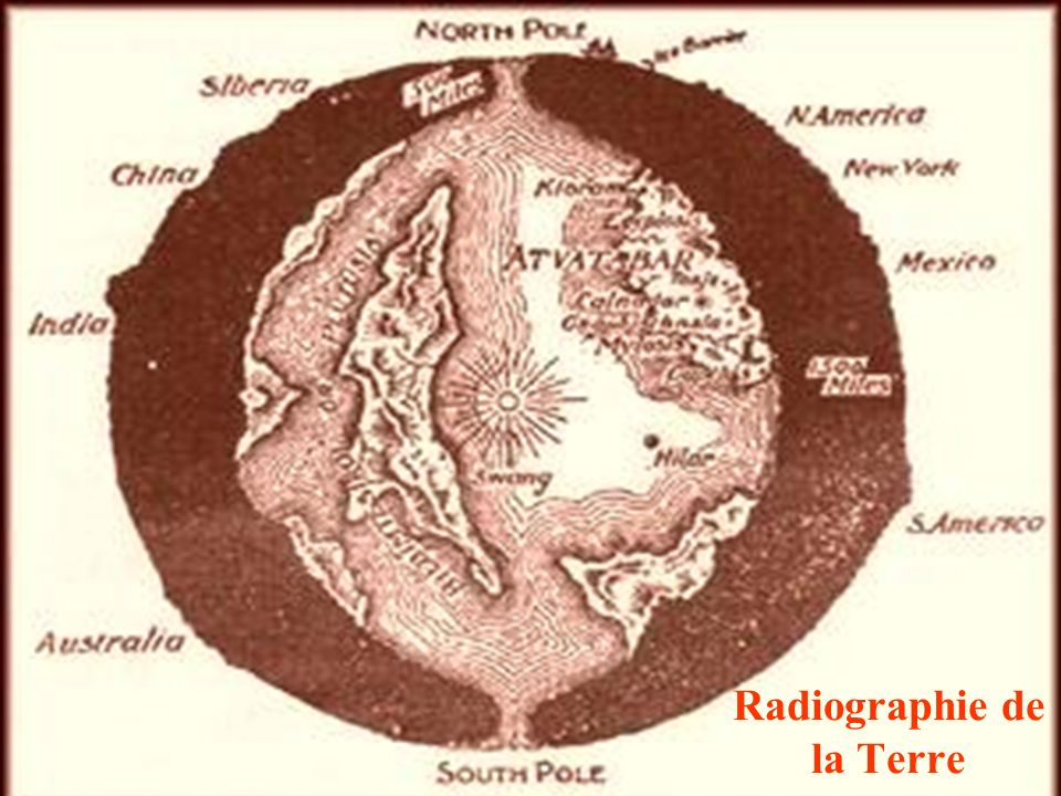 Radiographie de la Terre