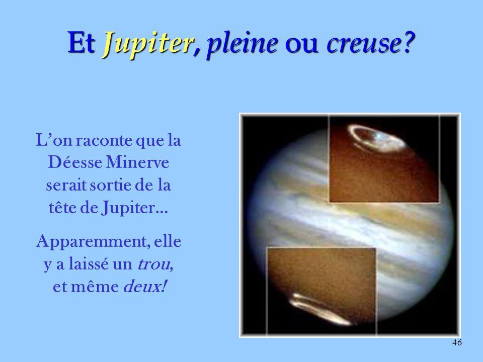Et Jupiter, pleine ou creuse