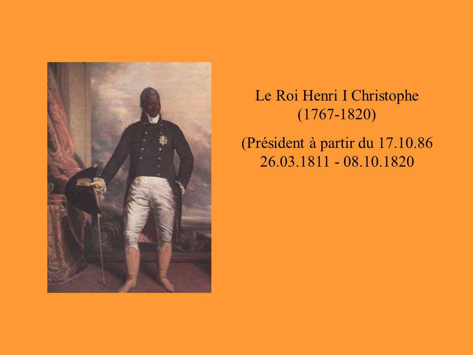 Le Roi Henri I Christophe (1767-1820)