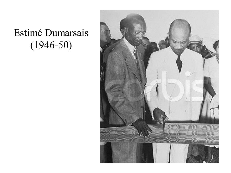 Estimé Dumarsais (1946-50)