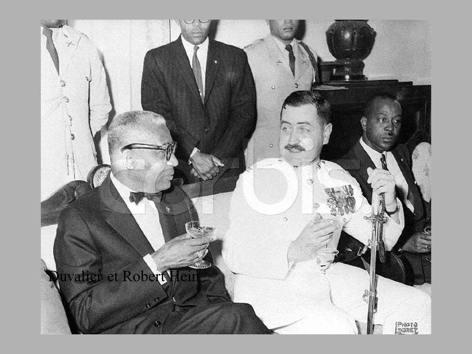 Duvalier et Robert Hein