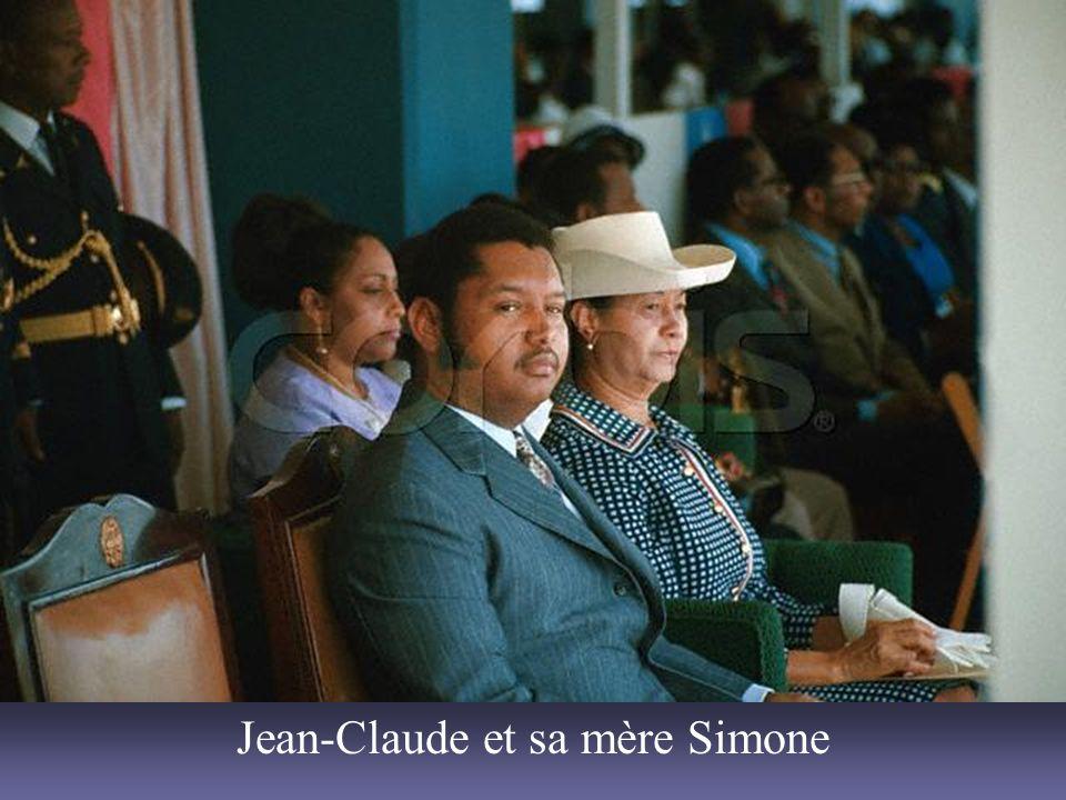 Jean-Claude et sa mère Simone