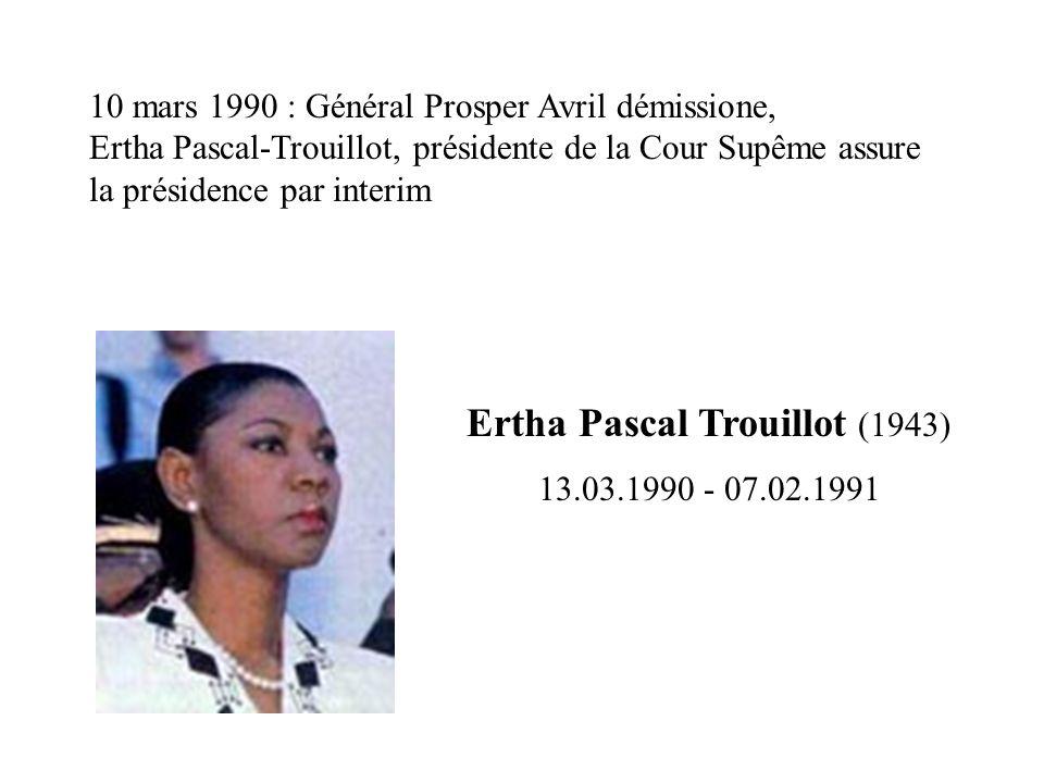 Ertha Pascal Trouillot (1943)