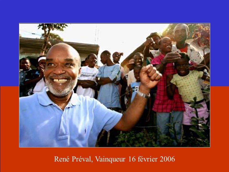 René Préval, Vainqueur 16 février 2006