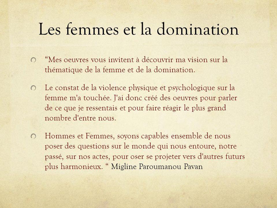 Les femmes et la domination