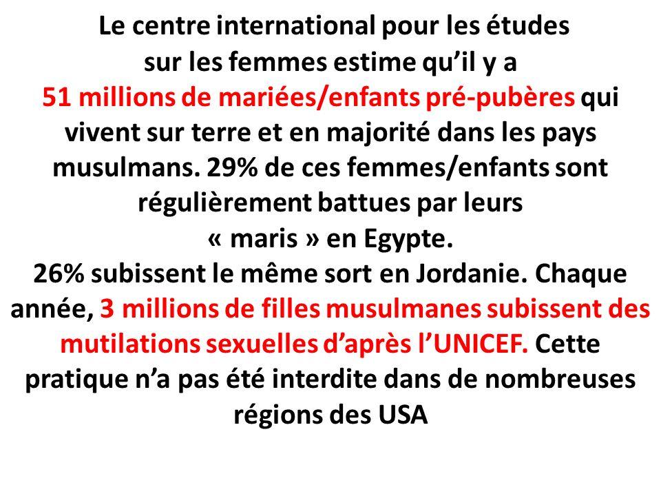 Le centre international pour les études