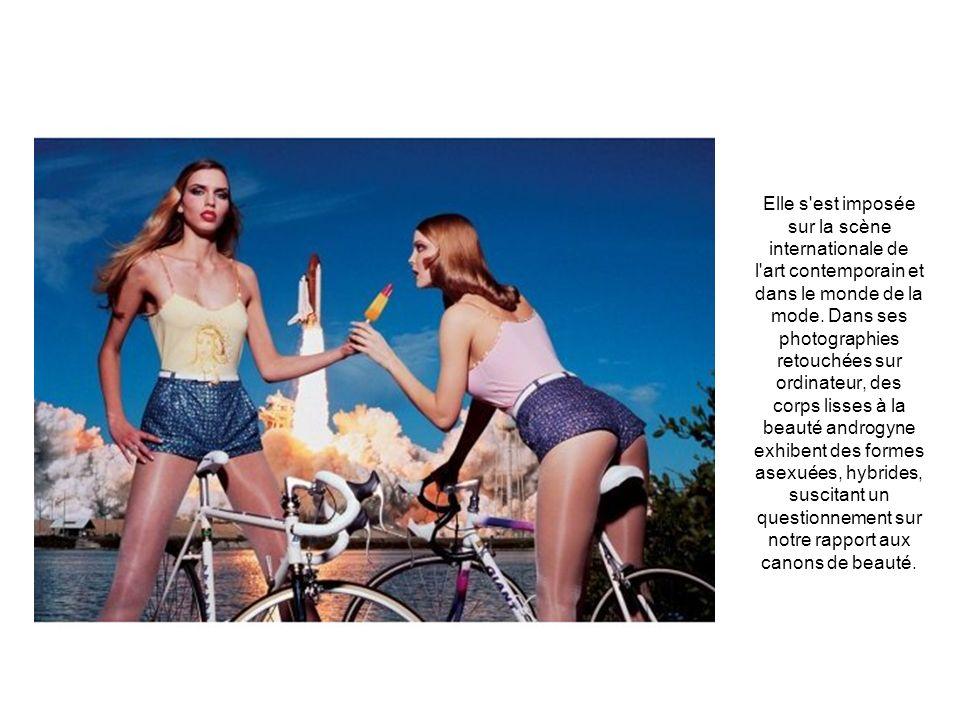 Elle s est imposée sur la scène internationale de l art contemporain et dans le monde de la mode.