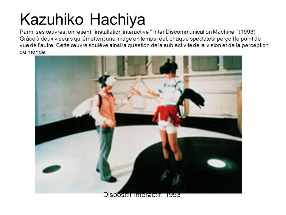 Dispositif interactif, 1993