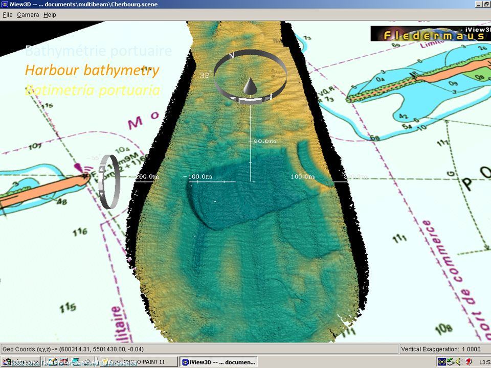 Bathymétrie portuaire Harbour bathymetry Batimetría portuaria