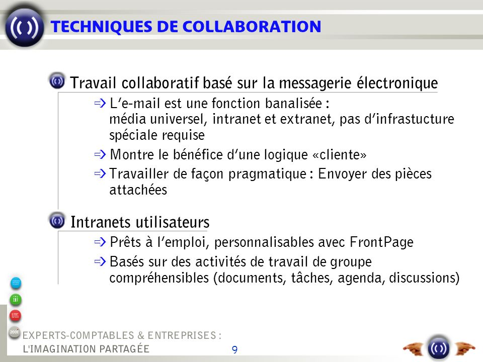 TRAVAIL COLLABORATIF VIA E-MAIL